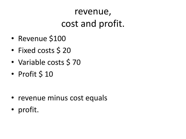 economic cost versus accounting cost 1 eco 300 - fall 2005 - october 18 production and firms - part 2 some conceptual distinctions of costs (p-r pp 213-8) 1 economic versus accounting costs.