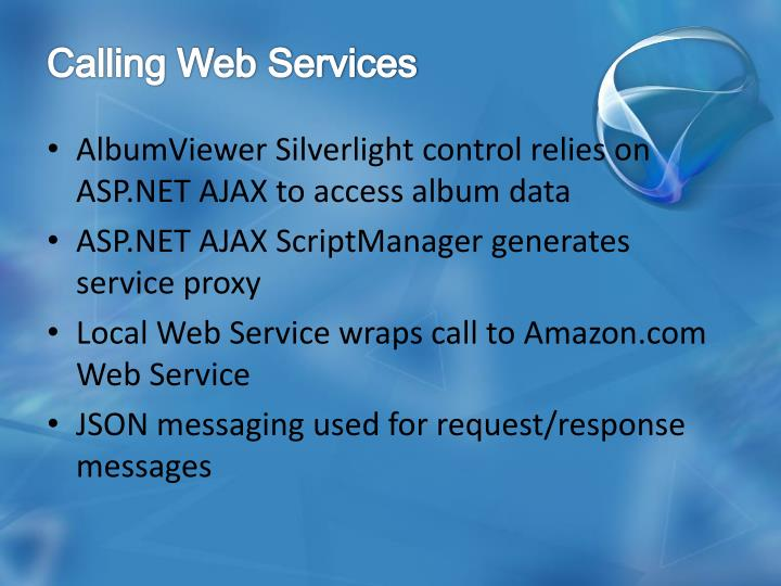 Calling Web Services