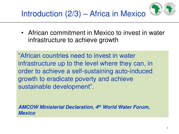 Introduction (2/3) – Africa in Mexico