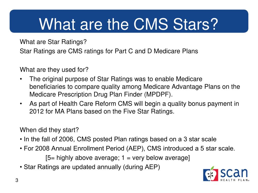 PPT - CMS 5 Stars and Health Survey PowerPoint ...