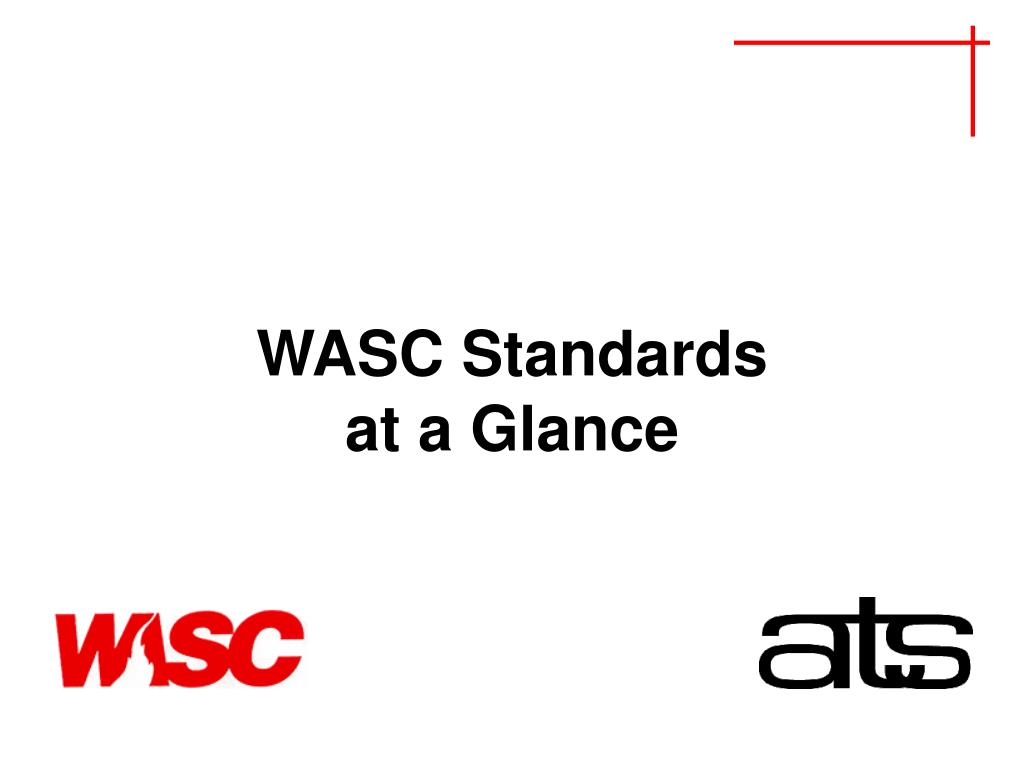 PPT - Joint ATS-WASC Accreditation Reviews PowerPoint