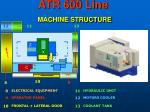 atr 600 line machine structure1