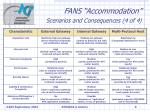 fans accommodation scenarios and consequences 4 of 4