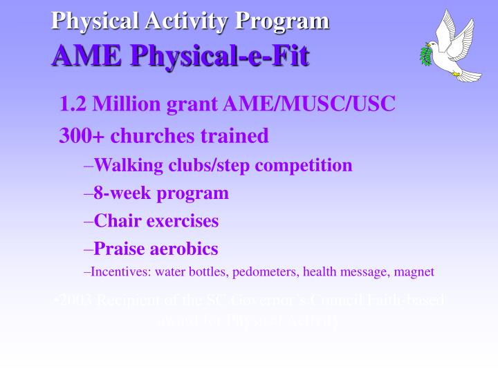 Physical Activity Program
