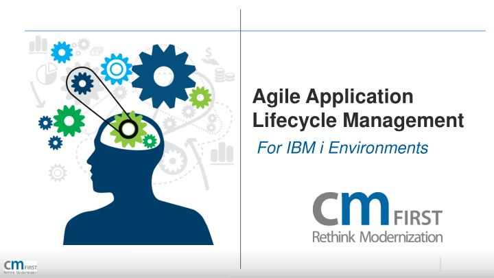 agile application lifecycle management n.