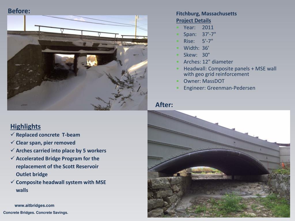PPT - Bridge-in-a-Backpack Concrete Bridges  Concrete