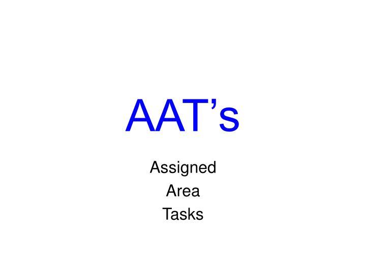 AAT's