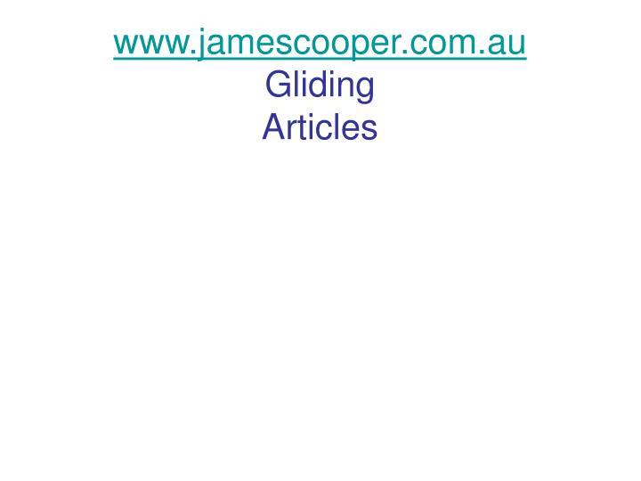 Www jamescooper com au gliding articles
