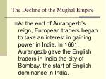 the decline of the mughal empire2