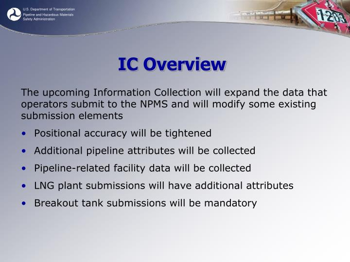 IC Overview
