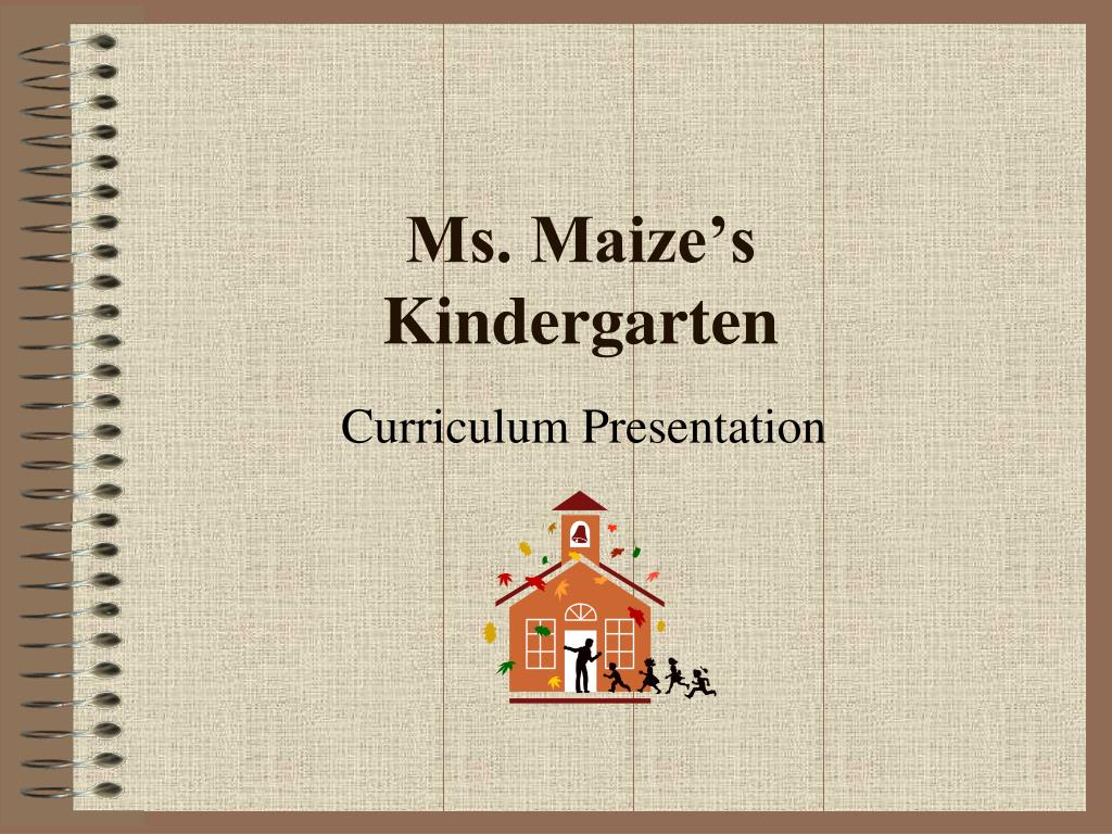 ppt ms maize s kindergarten powerpoint presentation id 6679177
