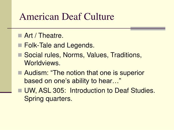 Art / Theatre.