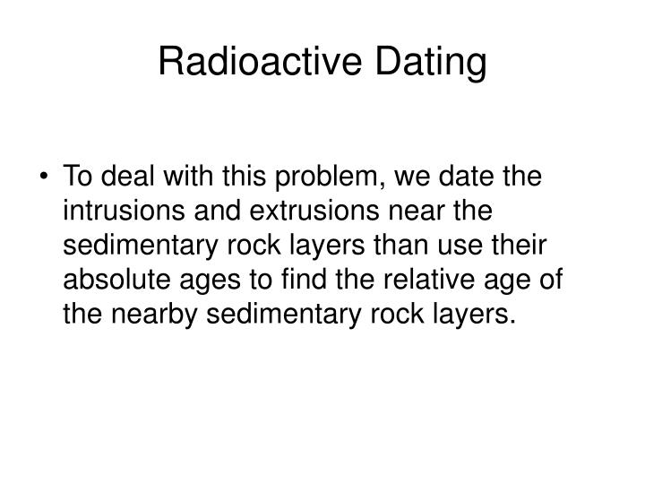 Paleomagnetic dating sedimentary rocks 50 million - 200 million years