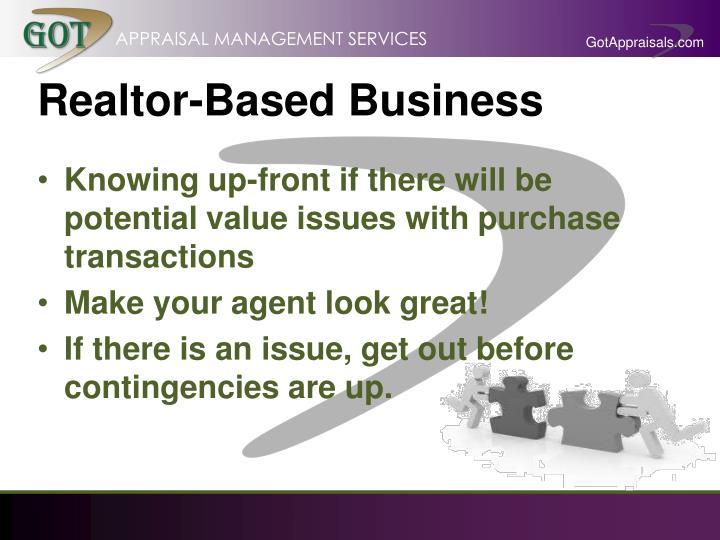 Realtor-Based Business