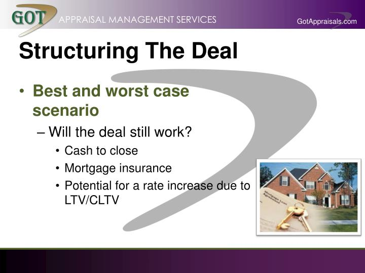 Structuring The Deal