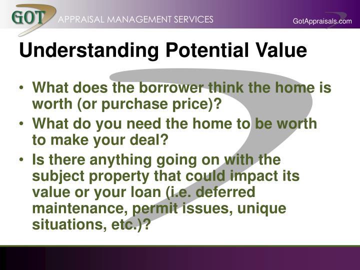Understanding Potential Value