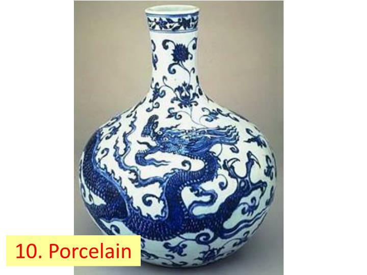 10. Porcelain