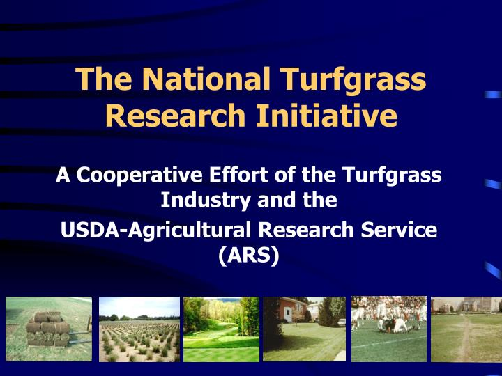 The national turfgrass research initiative