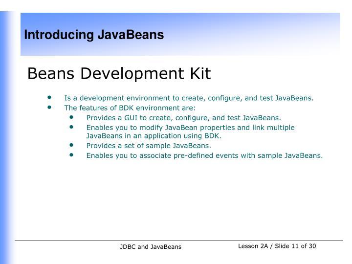 Beans Development Kit