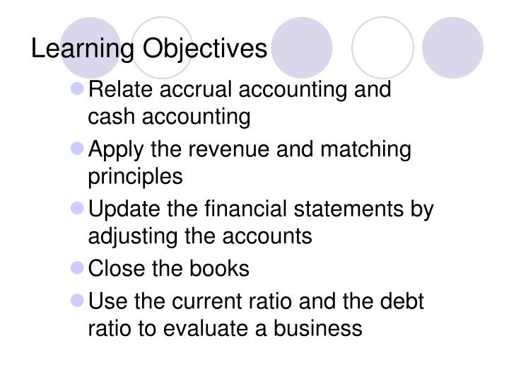 accrual and cash accounting Transitioning from cash to accrual basis accounting transitioning from a cash basis to an accrual basis method of accounting can be a daunting task, especially if your internal accounting resources are limited.