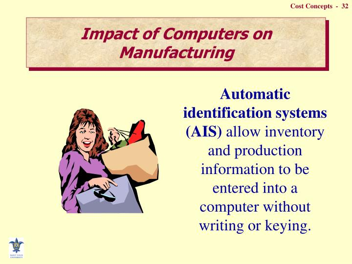 Impact of Computers on Manufacturing