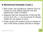 a numerical example cont1