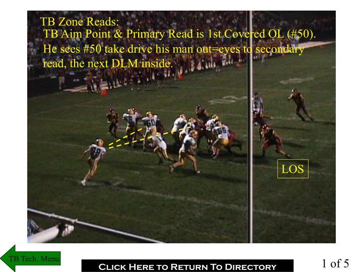 TB Zone Reads: