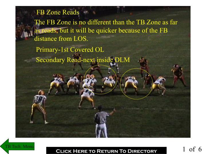 FB Zone Reads