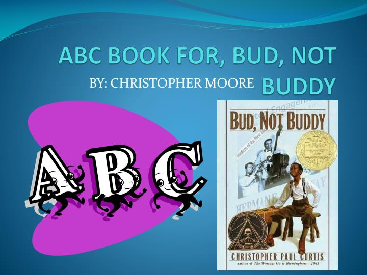 abc book for bud not buddy n.