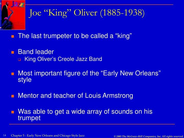"""Joe """"King"""" Oliver (1885-1938)"""
