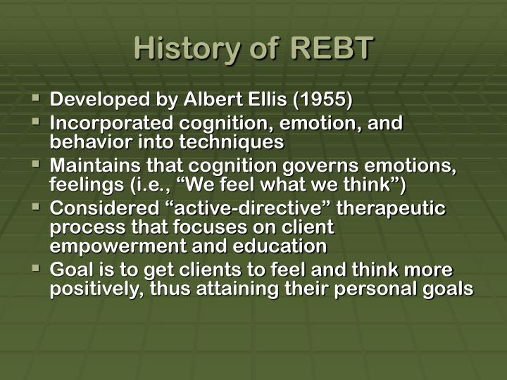 History of rebt