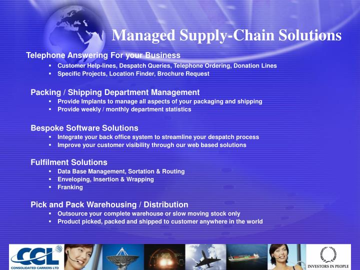 Managed Supply-Chain Solutions