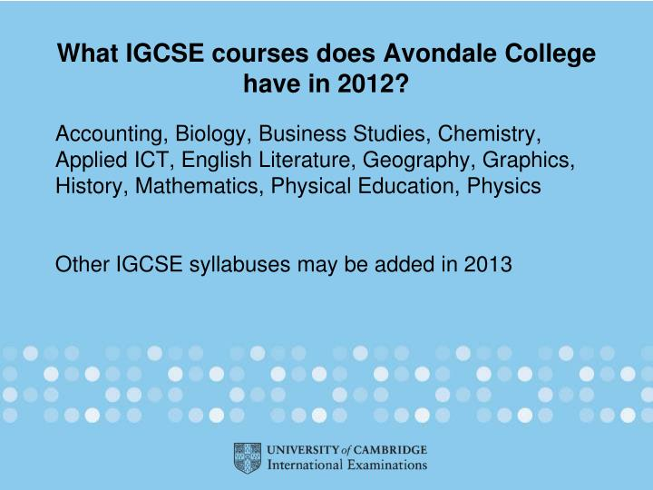 igcse cs coursework There are 70 subjects available at cambridge igcse including 30 languages and schools can offer them in any combination.