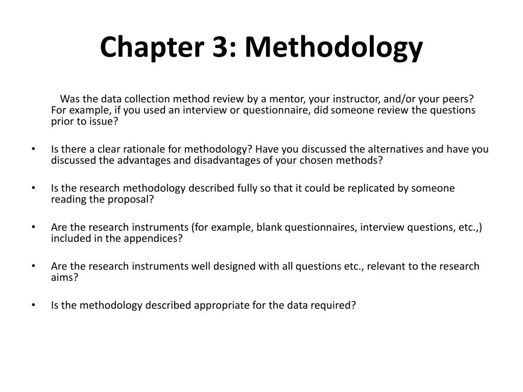 Data collection instruments in research methodology