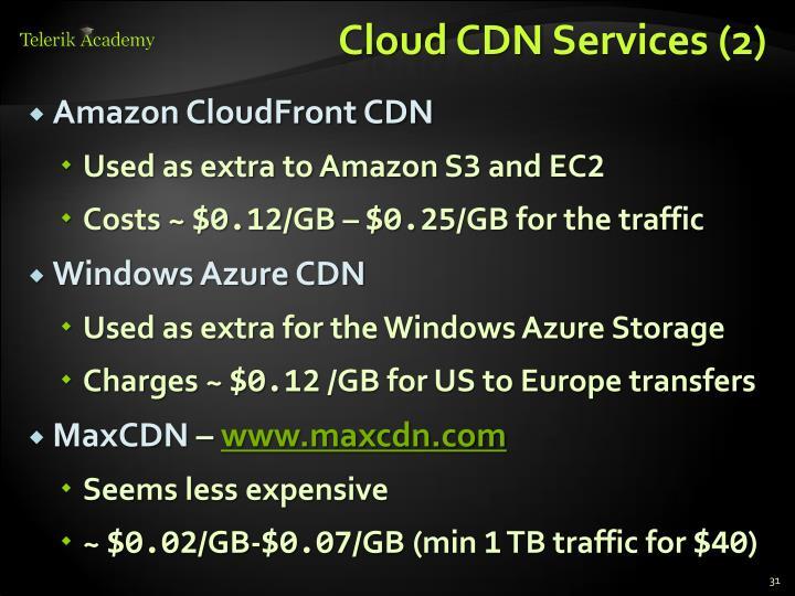 Cloud CDN