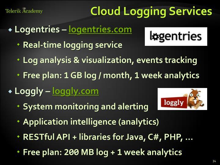 Cloud Logging Services