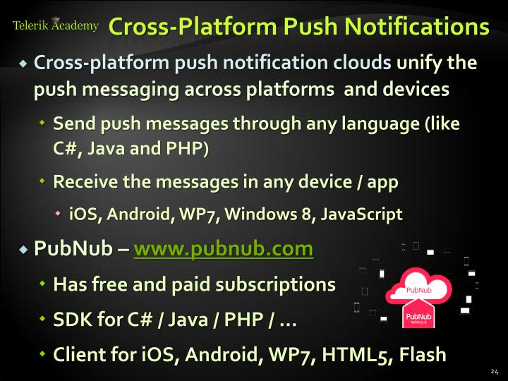 Cross-Platform Push Notifications