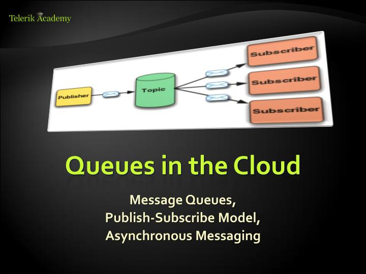 Queues in the Cloud