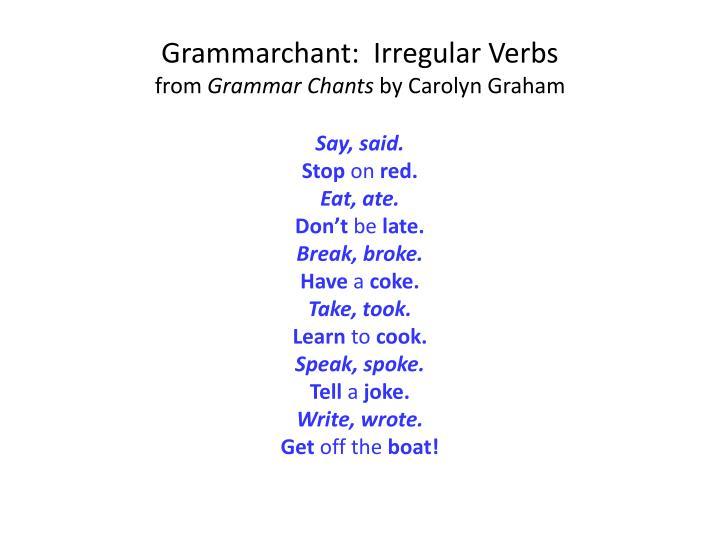 Grammarchant