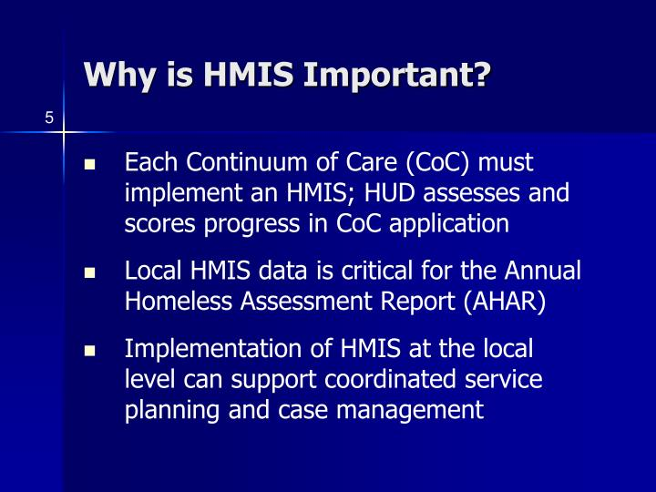 Why is HMIS Important?