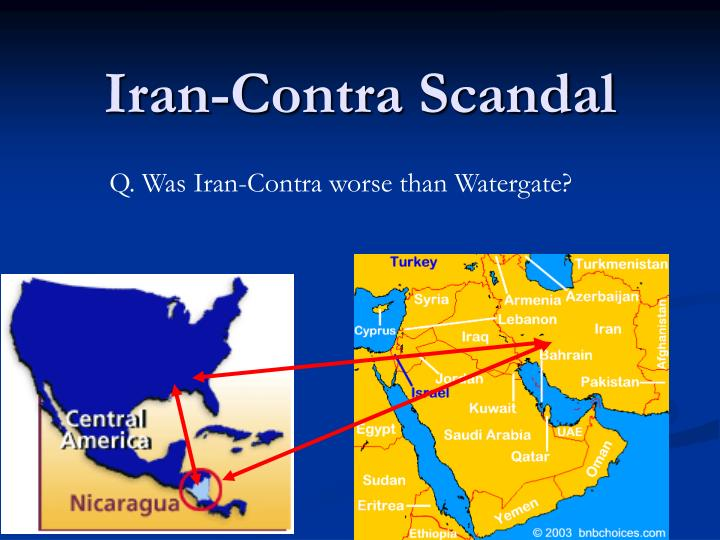an analysis of the iran contra scandal The iran-contra affair - iran-contra affair is the name of a major united states foreign policy scandal in the 1980's it involved two secret operations by the executive branch of the government.