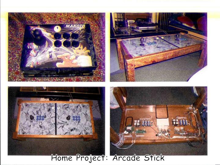 Home Project: Arcade Stick