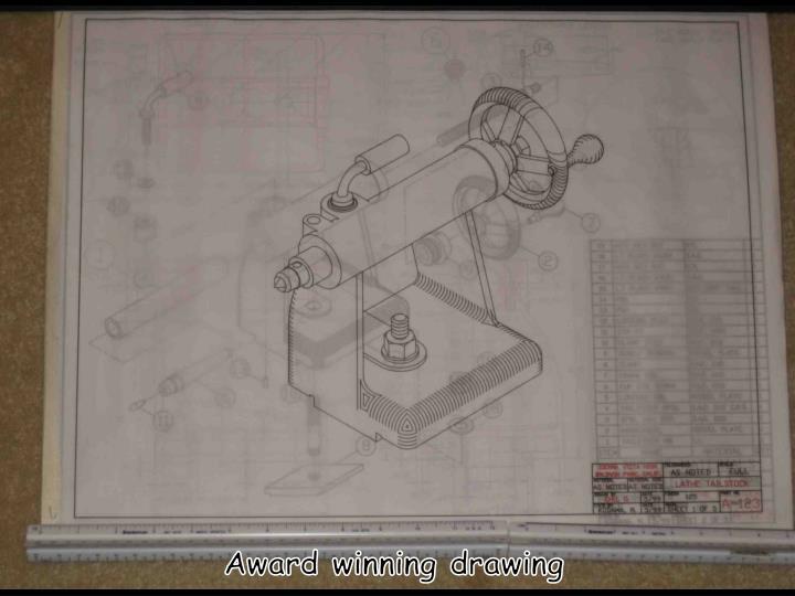 Award winning drawing