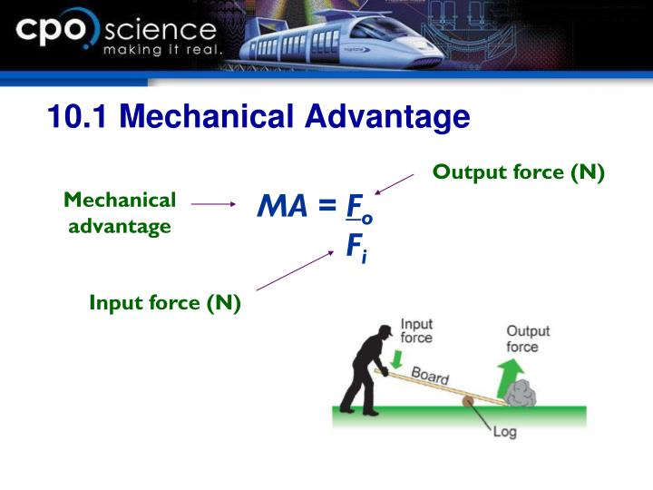 10.1 Mechanical Advantage