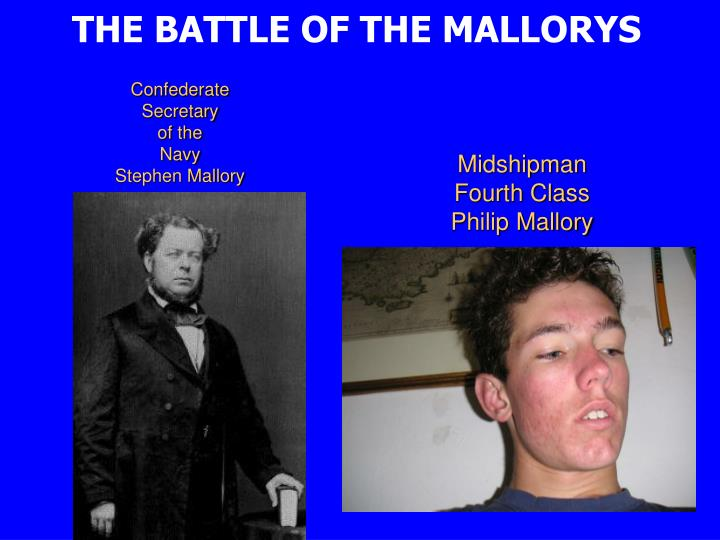 THE BATTLE OF THE MALLORYS