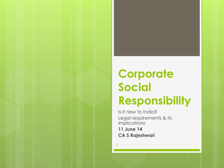 categories of corporate social responsibility Business advantages of corporate social responsibility practice areas of corporate social responsibility there are several types of corporate social.