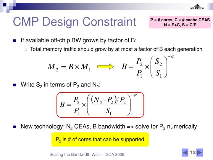 CMP Design Constraint
