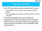 the aims of cpd