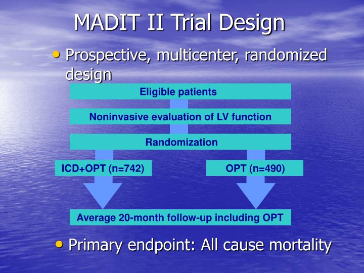 MADIT II Trial Design