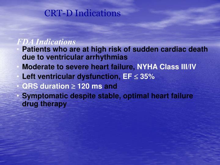 CRT-D Indications